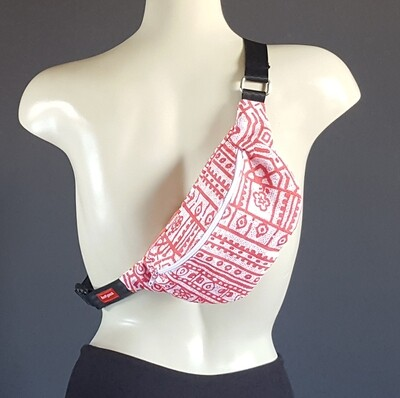Pink Tribal Print Fanny Pack