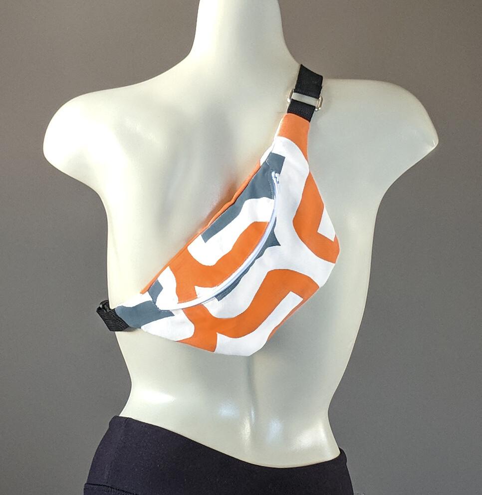 Retro Orange Fanny Pack
