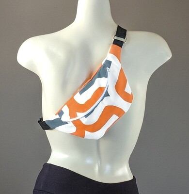 Retro Orange Fanny Pack