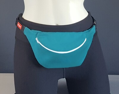 Solid Teal Blue Fanny Pack