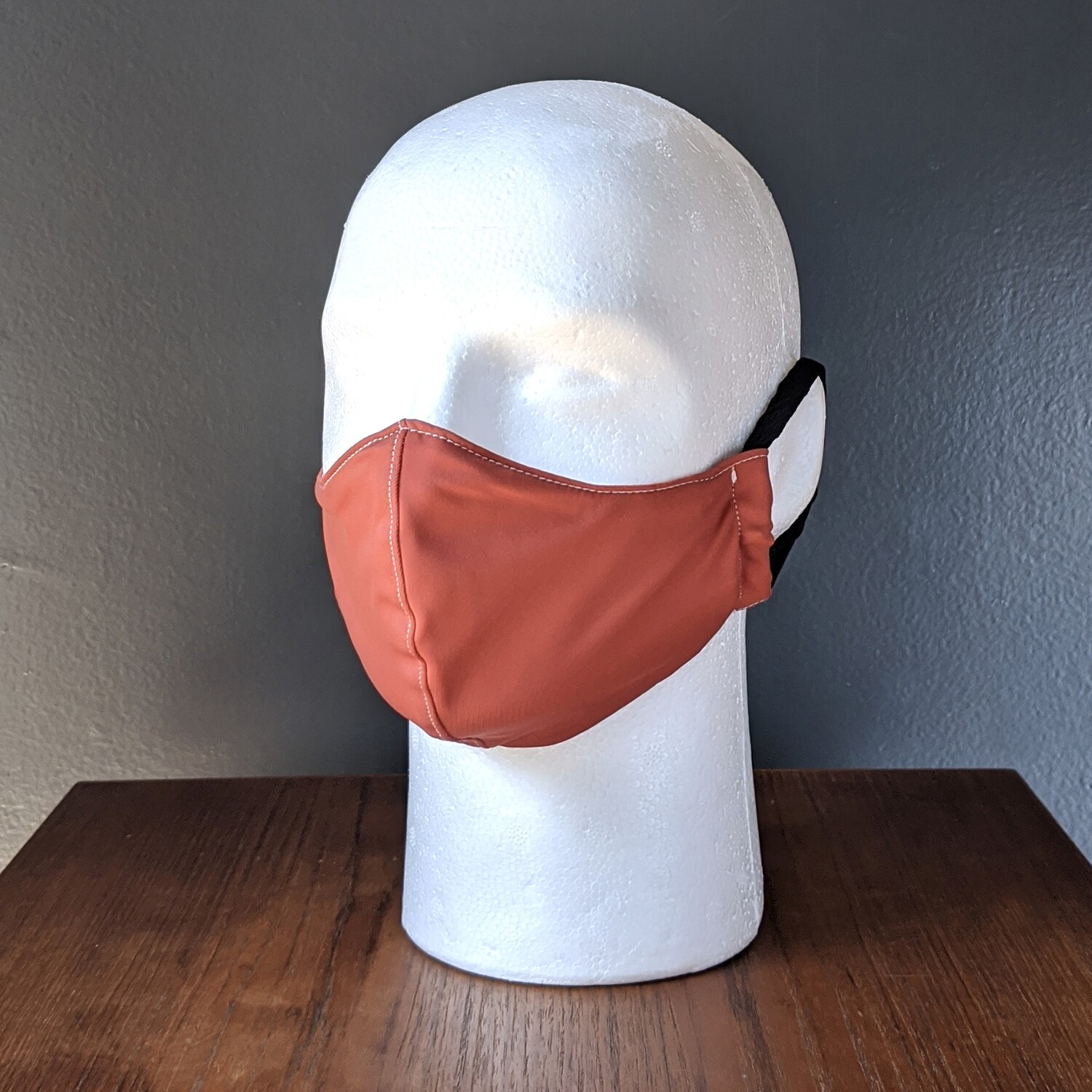 Rose Swimsuit Lycra Face Mask, Small, Unisex, Reusable, Double Layer for Swimming, Beach. Made in USA