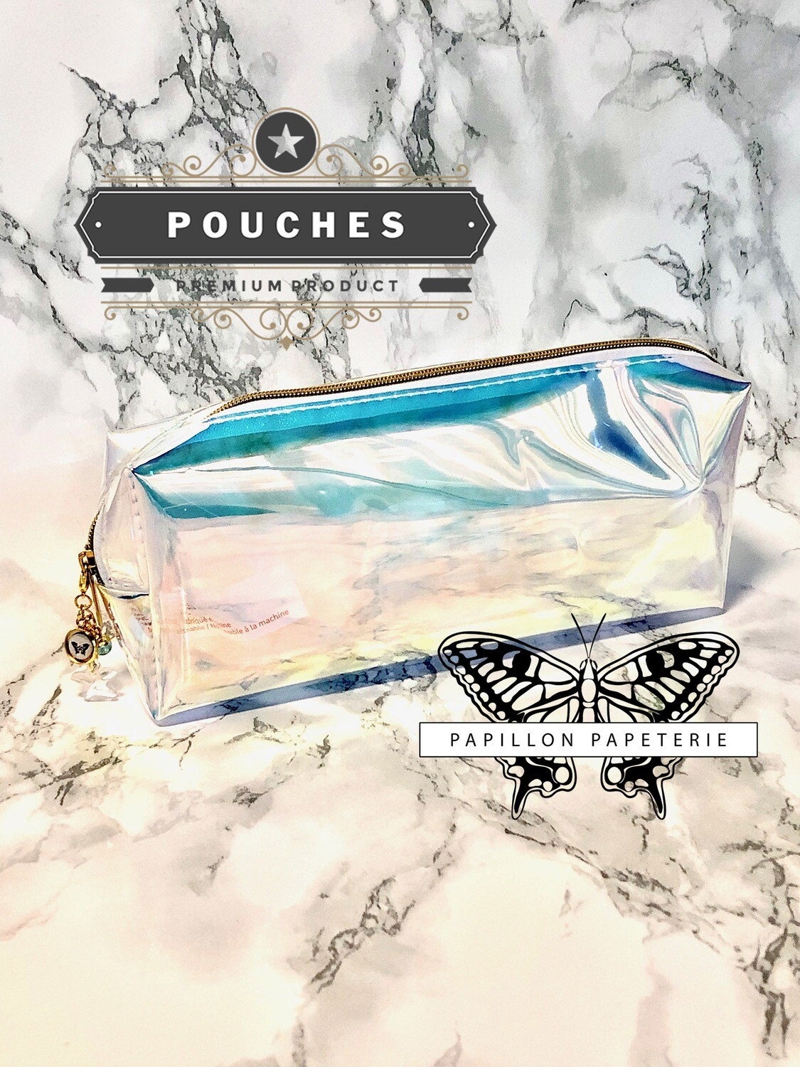 Starlight Planner Pouch | Opalescent Functional Pencil Case Makeup Pouch Custom