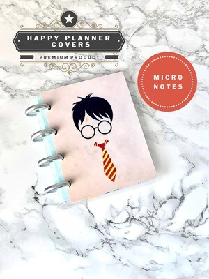 Wizard Happy Planner Micro Notes Cover | Cute Magic Potions Magic Wand