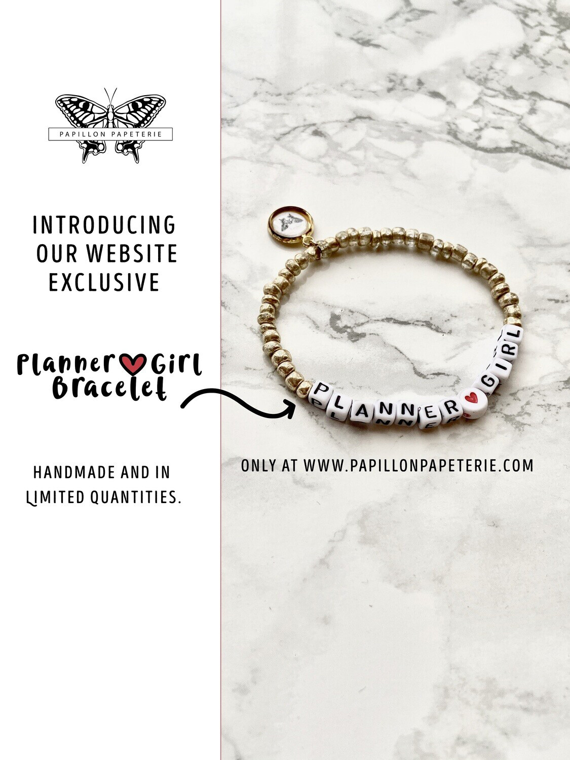 Planner Girl Website Exclusive Bracelet