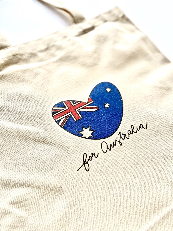 mika+michi Save the Australian Wildlife Tote Bag *PRE-SALE*