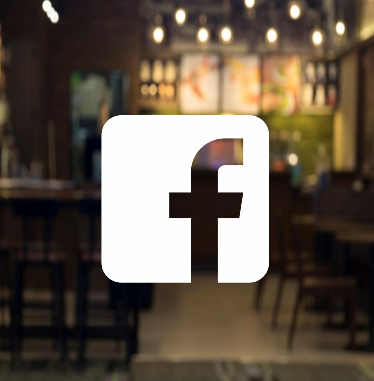 Social Media Facebook Logo, square style