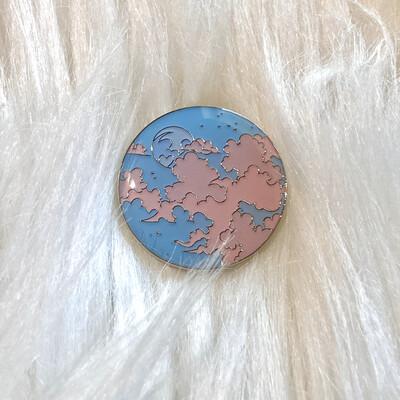 MOONRISE ENAMEL PIN