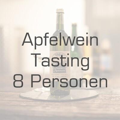 Ticket/Gutschein: Apfelwein-Tasting für 8 Personen