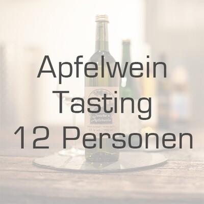 Ticket/Gutschein: Apfelwein-Tasting für 12 Personen