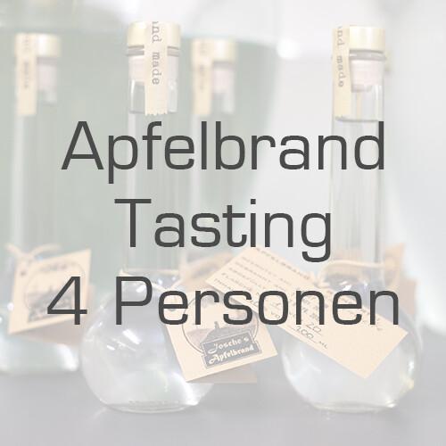 Ticket/Gutschein: Apfelbrand-Tasting für 4 Personen