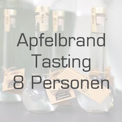 Ticket/Gutschein: Apfelbrand-Tasting für 8 Personen