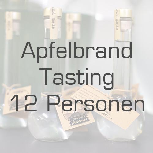 Ticket/Gutschein: Apfelbrand-Tasting für 12 Personen