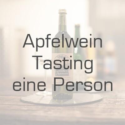 Ticket/Gutschein: Apfelwein-Tasting für eine Person