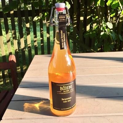 Böhm Ciderwerkstatt - 0,75L - Bergwiese Cider 2019