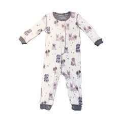 PJ Salvage Pawfection Ivory Infant Romper - Mother/Daughter  Size 6/12M, 12/18M