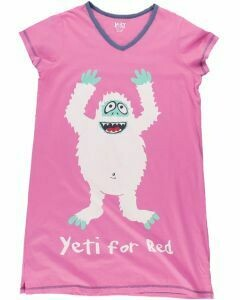 Lazy Ones Pink Yeti For Bed