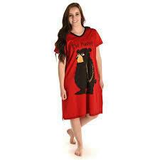 Lazy Ones I'm Pooped Red Sleepshirt