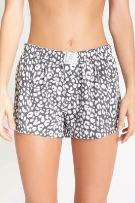 PJ Salvage Chelsea Leopard Soft Cotton Twill Pajama Short  Size L and XL