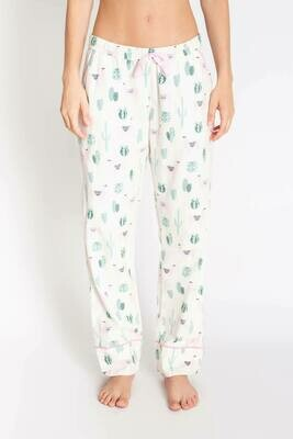 PJ Salvage Chelsea Llama Soft Cotton Twill Pajama PJ Pant  Size L and XL