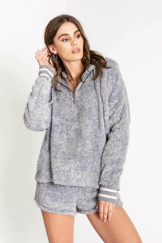 PJ Salvage Grey Cozy Hoody Size XS, L, XL