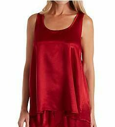 PJ Harlow Satin Jackie High Low PJ Tank- see colors offered