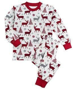 Saras Prints Super Soft Holiday Pajama Set  size 2 and 7