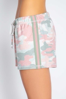 PJ Salvage Spring Camo Womens PJ Shorts  Size XL   Only 1 left