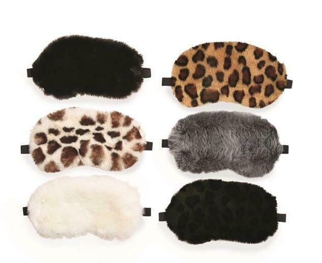 Faux Fur Sleep Masks