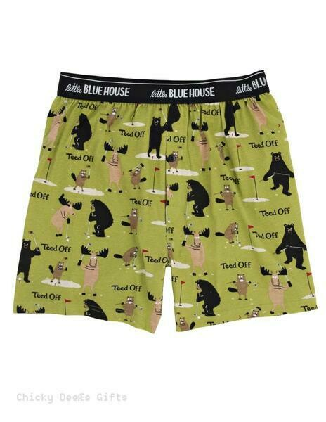 Golf Boxers Men's Adult Size Small
