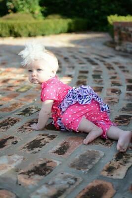 Laura Dare Pinkand Purole Zebra PJ Set  Size 24month