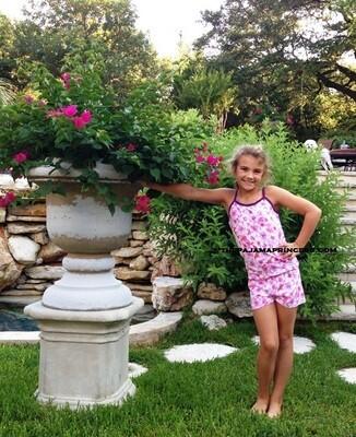 Esme Blue Cheetah PJ Set  Size 4