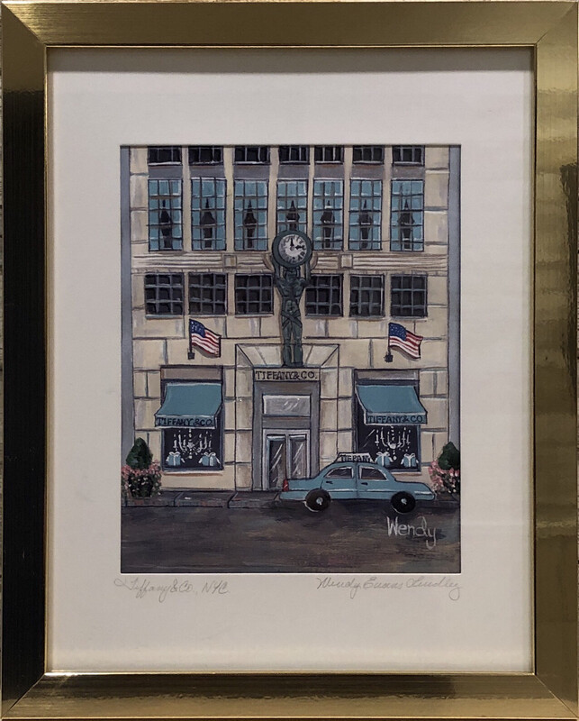 Tiffany & Co. New York City Store Front Framed Print