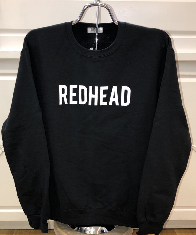 Redhead Black Sweatshirt