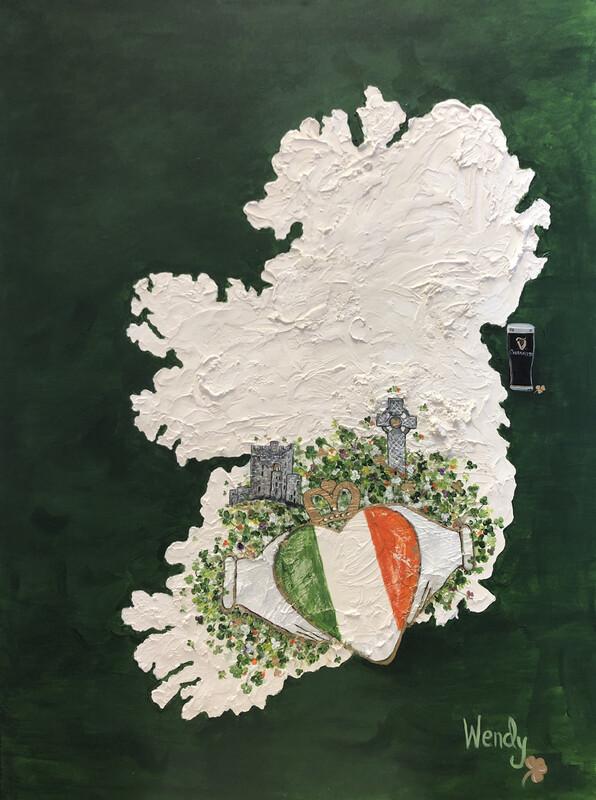 My Heart Is In Ireland Print