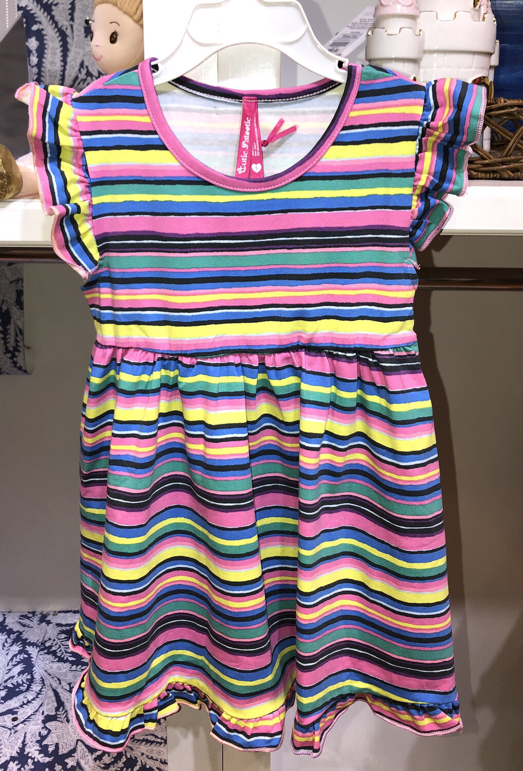Stripe Color Dress