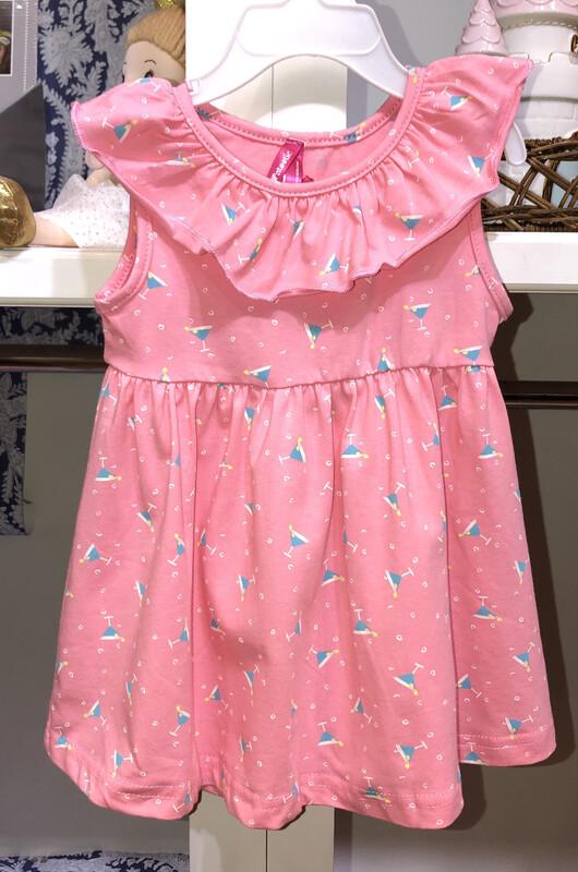 Pink Tropical Drink Dress