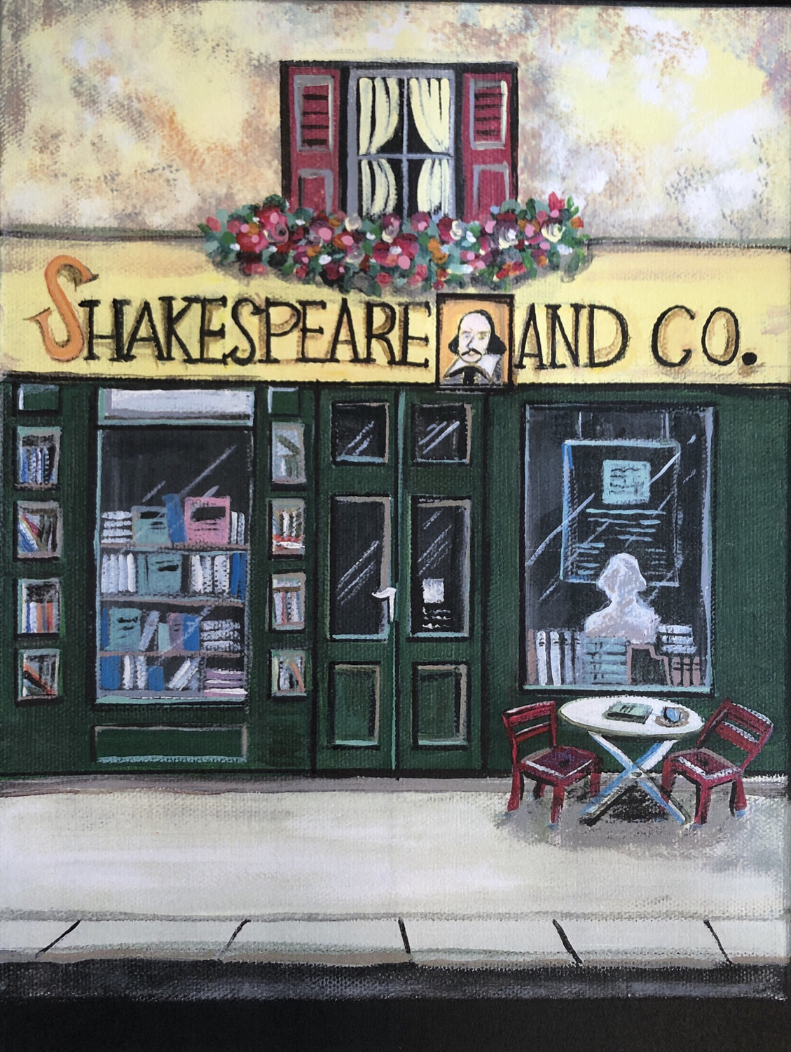 Shakespeare And Co. Store Front Framed Print