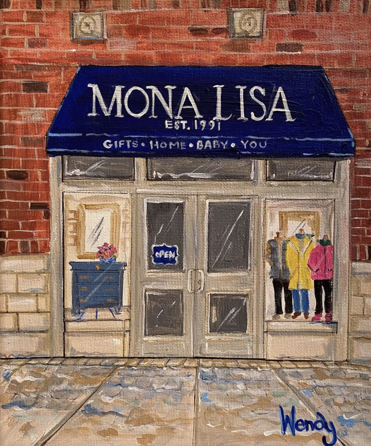 Mona Lisa Orland Park Crossing Store Front