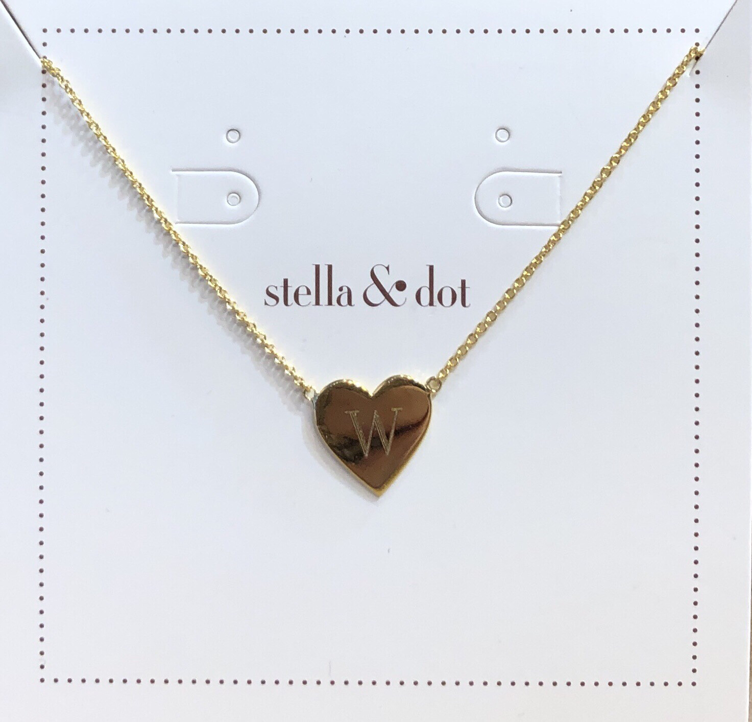 Signature Engravable Heart Necklace