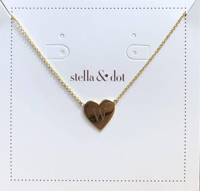 Signature Engravable Heart Necklace