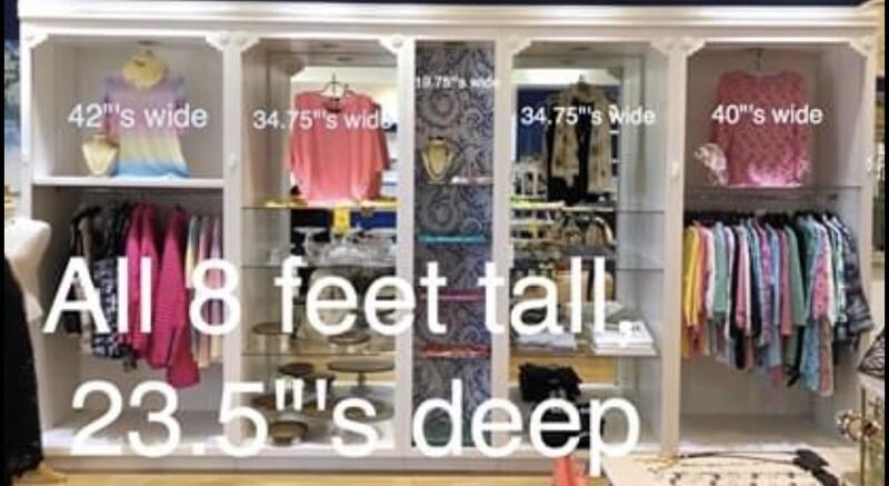 Retail Cabinetry Five Piece Fixture