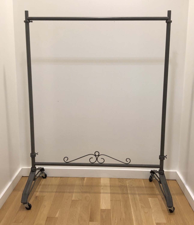 Decorative Rolling Rack Adjustable