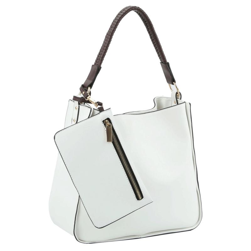 2-4-1 Handbag With Zip Clutch