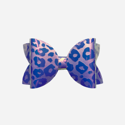 Neon Leopard Bow