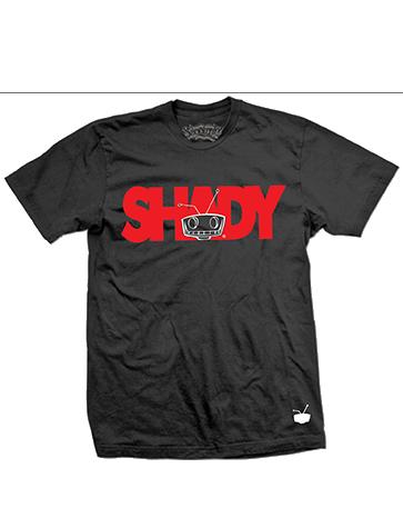 Shady Tee Black/Red