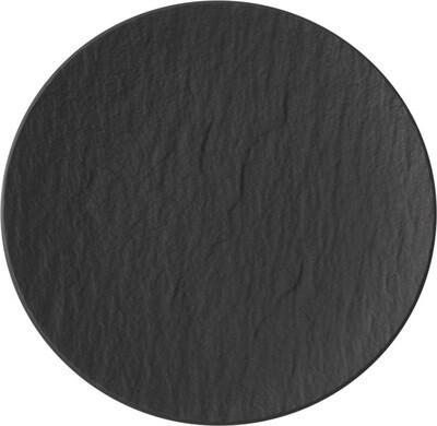 Villeroy & Boch, The Rock Black Shale - Piatto piano coupé  21 cm