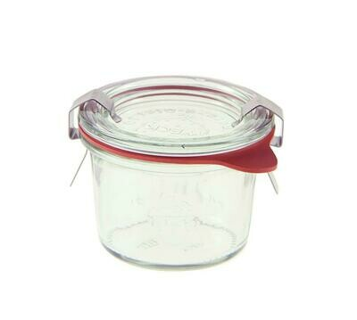 Weck - Vaso con coperchio 8 ml