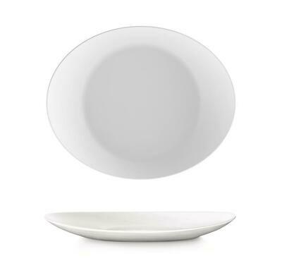 Bormioli Rocco - Piatto Bistecca 31x26 cm Bianco Prometeo