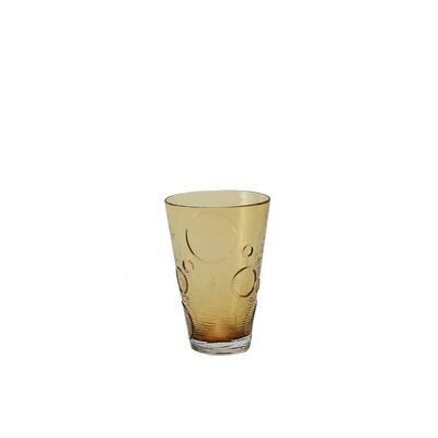 Tirolix - Bicchiere Bibita 50 cl Ambra Circle