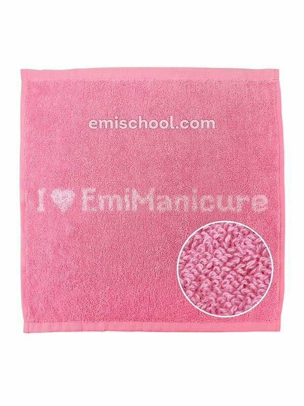 Towel E.Mi-manicure pink